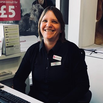 Sue Fenner - Receptionist