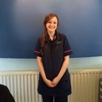 Natalie Smith Perkins Veterinary Nurse Vets4Pets Mansfield