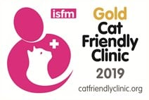 Cat friendly clinic gold award