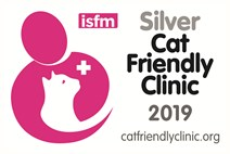Cat friendly clinic silver award