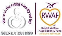 Rabbit friendly vet logo SILVER 2019
