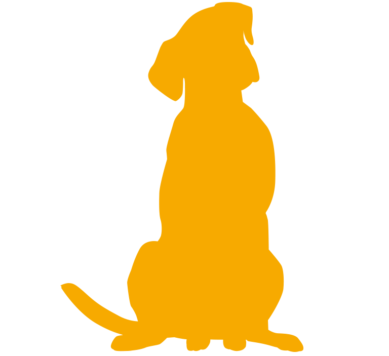 Yellow Dog silhouette
