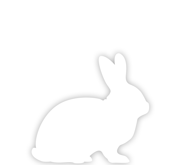 White Rabbit silhouette
